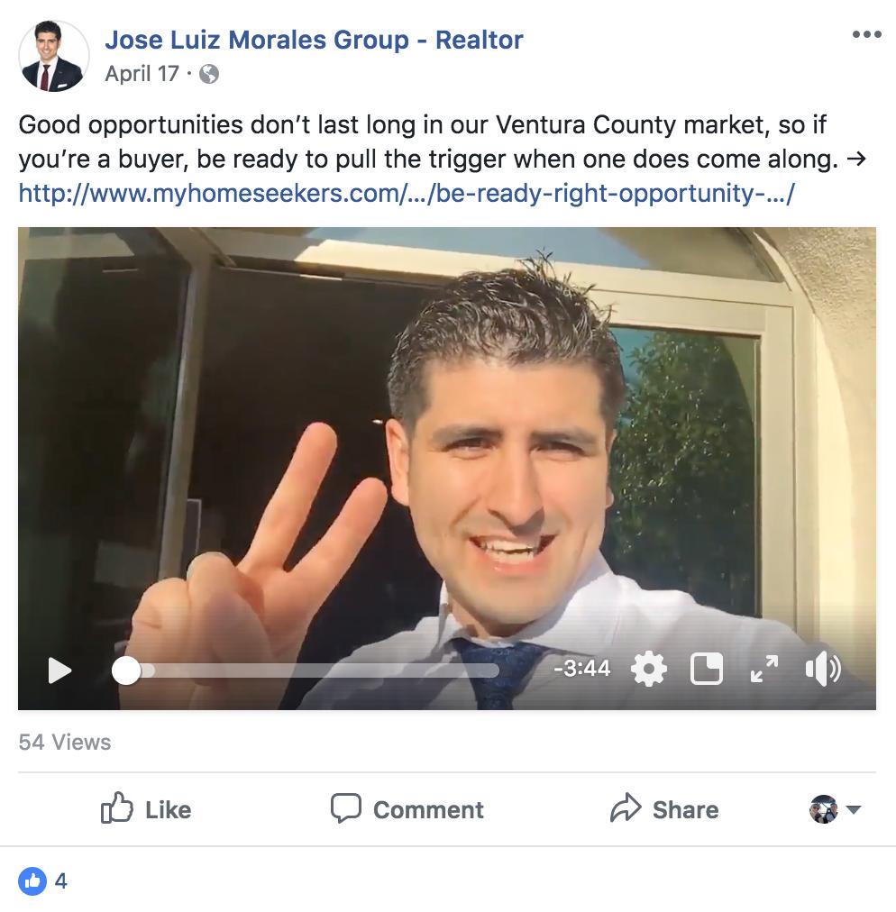 Jose Morales Facebook Post