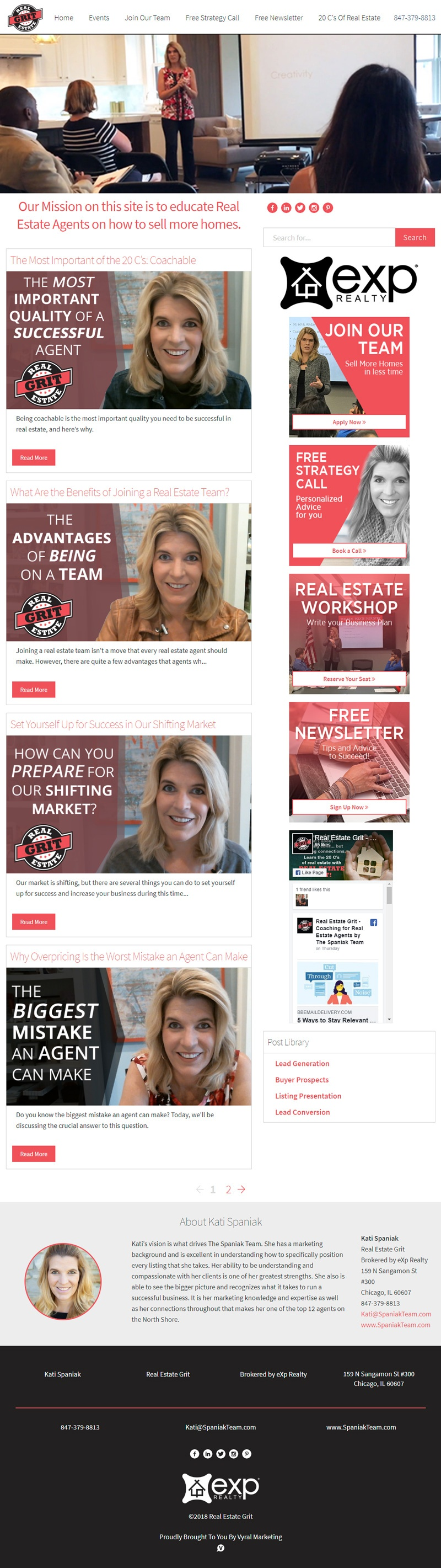 Kati-Agent-Training-Website