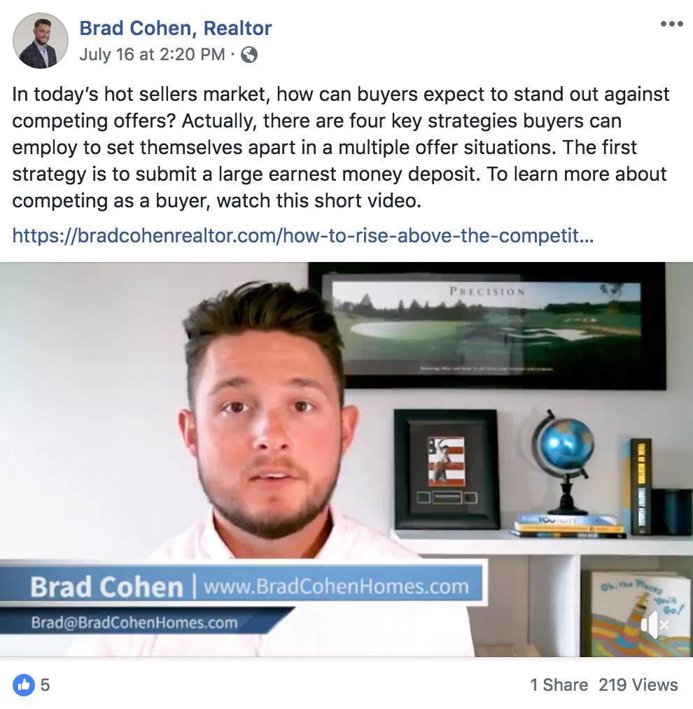 Brad Cohen Facebook