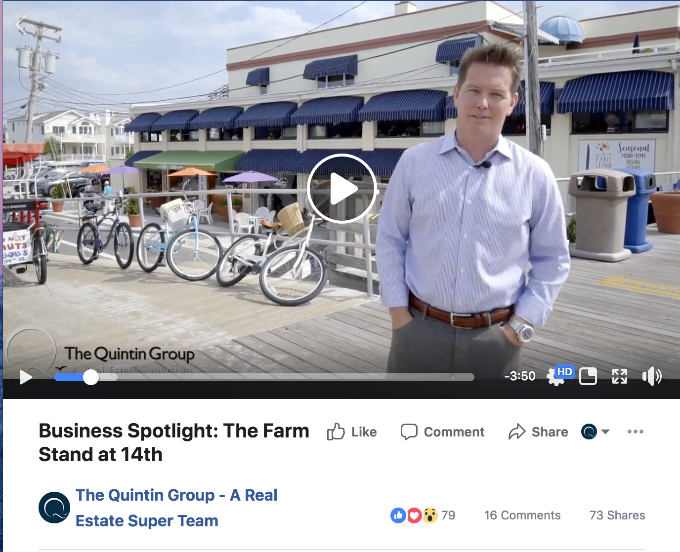 Jeff Quintin Business Spotlight video