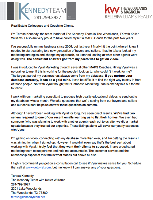 Teresa Kennedy Rec Letter