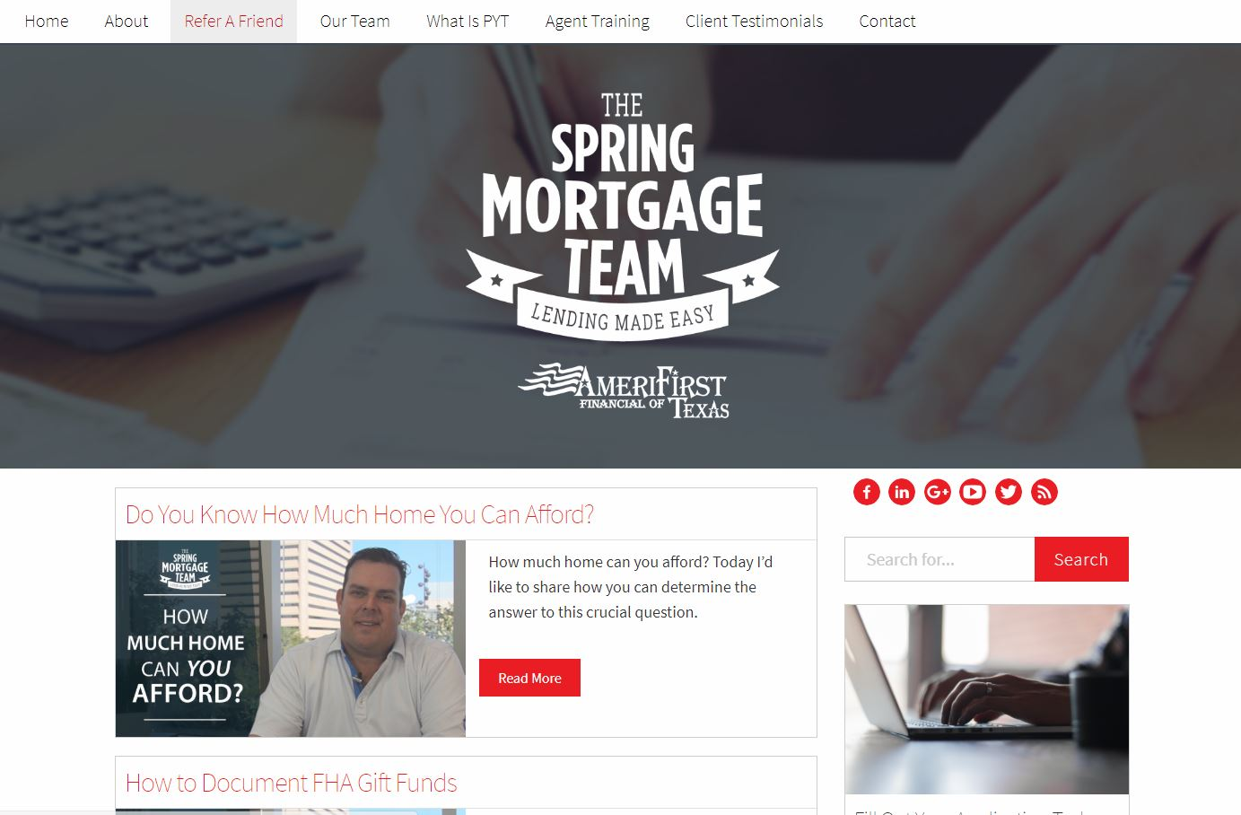 The Spring Mortgage Team