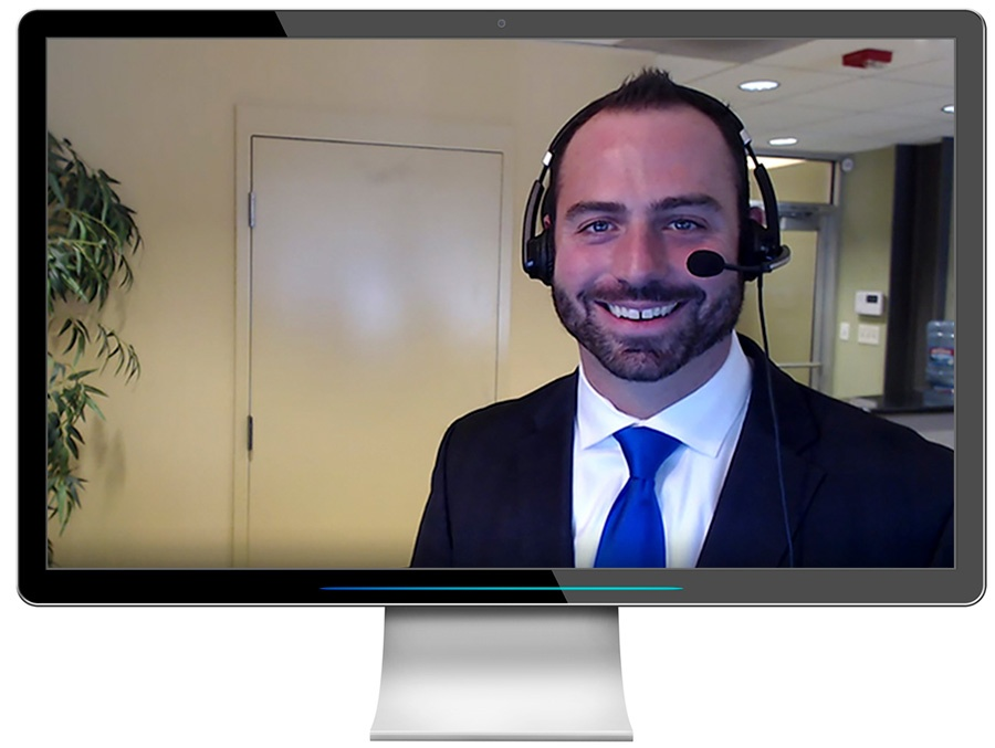 HD Webcam Interview