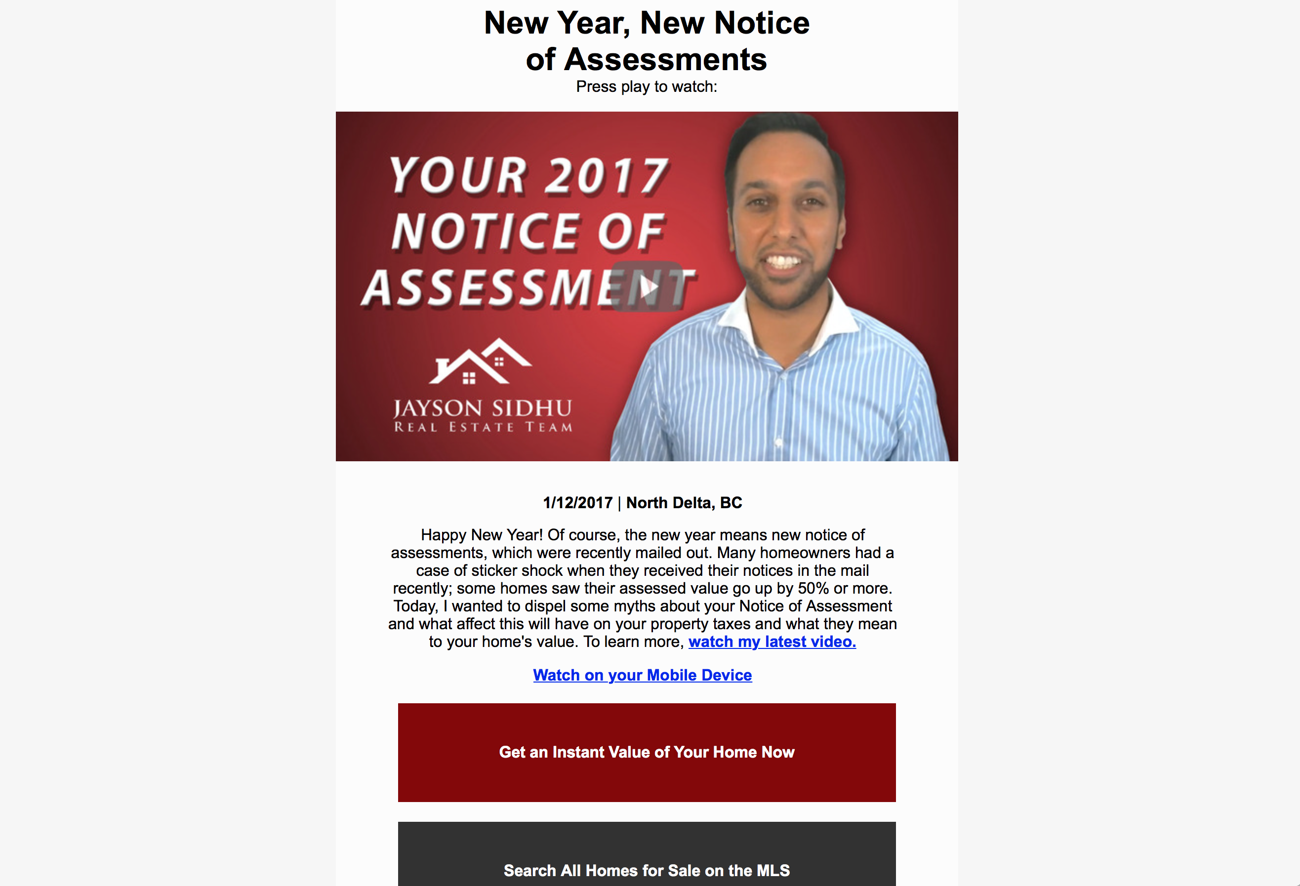 "EMAIL OF THE WEEK: ""New Year, New Notice of Assessments"""