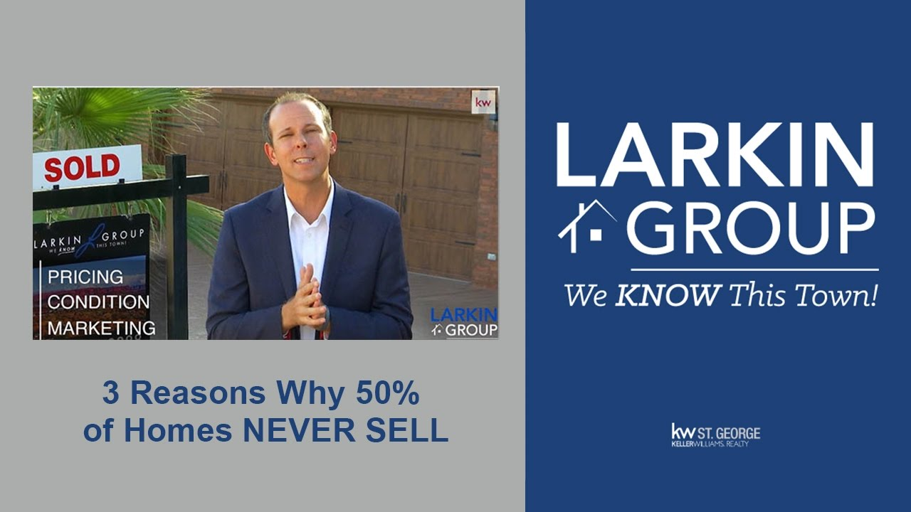VIDEO OF THE WEEK: 3 Reasons Why 50% of Homes Never Sell